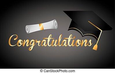 remise de diplomes, conception