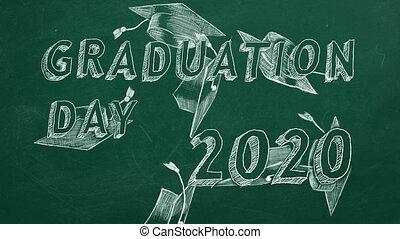 remise de diplomes, day., 2020