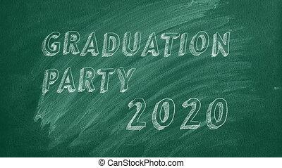 remise de diplomes, partie., 2020.