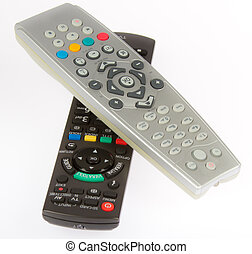 Remore control from TV, VCR, DVD