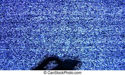 remote control and screen