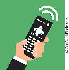 remote control design, vector illustration eps10 graphic