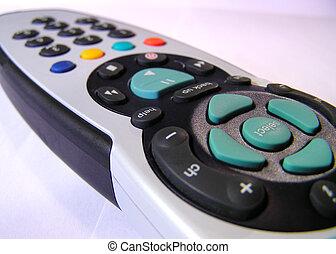 Digital satellite television remote control