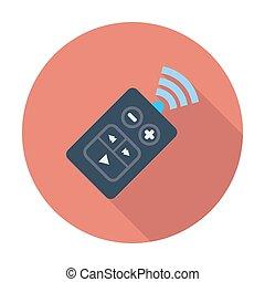 Remote control icon