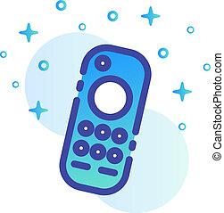 Remote control Line Color illustration