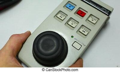 remote control professional tape recorder