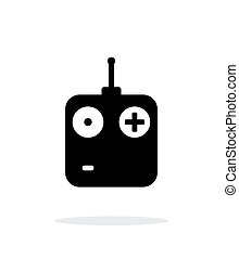Remote control simple icon on white background. Vector...