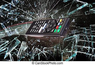 Remote Control through Glass.