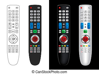 Remote Control - Vector Illustration