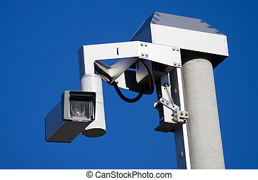 remote-controlled  traffic surveillance camera