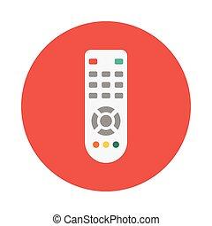 remote flat icon