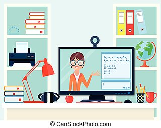 Remote Learning Teacher Composition - E-learning distance ...