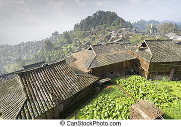 Remote Village in China