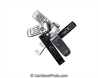 remotes, infrarouge