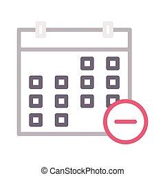 remove calendar