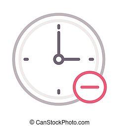 remove clock
