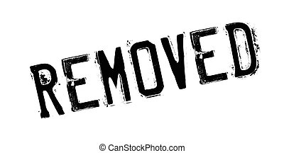 Removed rubber stamp