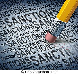 removendo, sanções