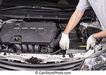 Removing the car battery with lose electrical power