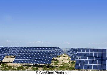 ren, elektrisk energi, sol, pläterar, generatorer