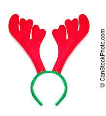 rena, decoração, antlers