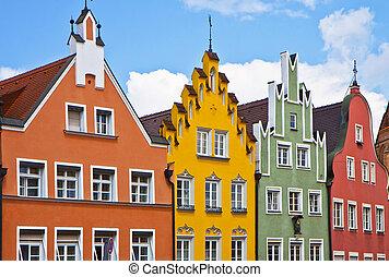 renacimiento, alemania, fachadas