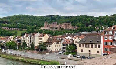 Renaissance Heidelberg castle in Germany - Renaissance...