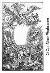 Renaissance mirror ornamental frame