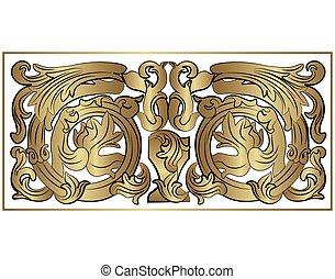 Renaissance Royal classic ornaments