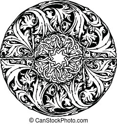 Renaissance seamless pattern