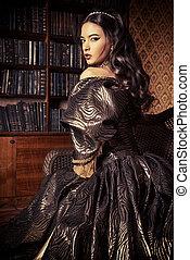 renaissance - Renaissance Style - beautiful young woman in...