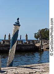 Renaissance style luxury ship dock