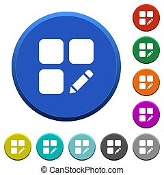 Rename component beveled buttons