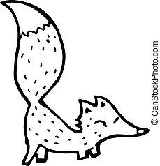renard, dessin animé