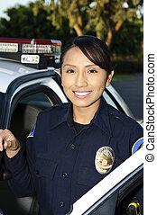 rendőrség tiszt