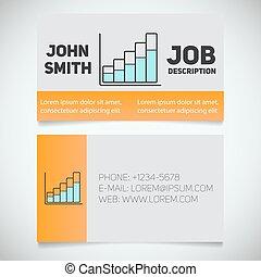 renda, modelo, cartão, logotipo, crescimento, negócio, ...