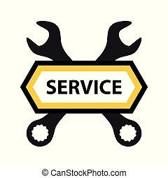 rendbehozás, embléma, szolgáltatás, mechanika, elektronika, vagy, szoftver