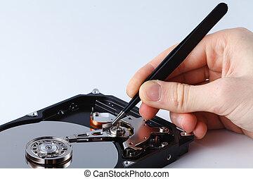 rendbehozás, fogalom, eszközök, agyonhajszol, adatok, nyílik