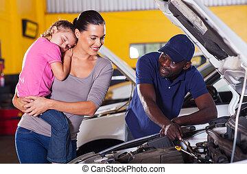 rendbehozás, neki, autó, bevétel, fiatal, anya