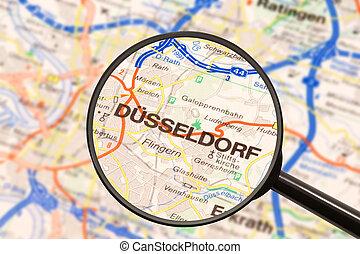 rendeltetési hely, dusseldorf