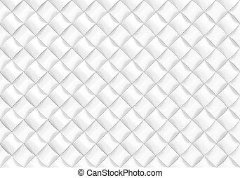 render, abstrakt, pattern., design, hintergrund, weißes, 3d