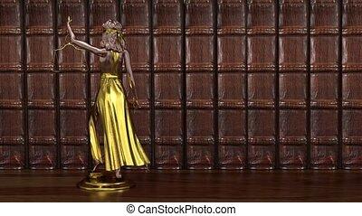 render., balances, statue, femida, 3d, hands., themis, ...