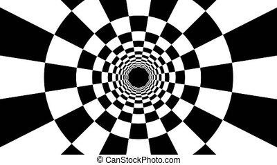 render, blanc, 3d, stripes., résumé, fond, ordinateur a engendré, noir