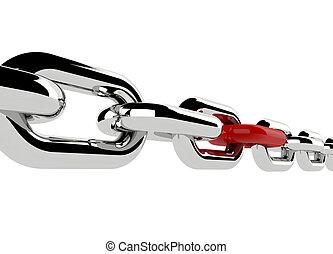 render, cadena,  3D