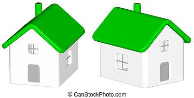 Render: green house