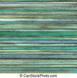 render, grunge, résumé, bleu, bois, planche, vert, bois ...
