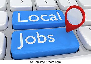 Local Jobs concept