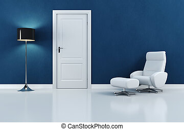 render, moderno, disegno, interno, 3d