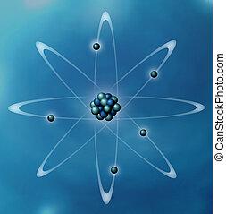 Atom - Rendered Atom Illustration
