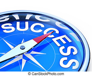 success - rendering of a compass with success icon
